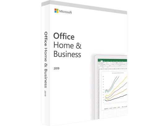 MicroSoft Office 2019 Home & Business 1 Mac/PC