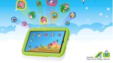 "Samsung Galaxy Tab A 10.1"" WIFI zwart + Kids Cover + Kids Home apps"
